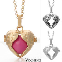 angel - Harmony ball sterling Silver Plating Angel ball in pendants necklaces jewelry VA Vocheng Jewelry