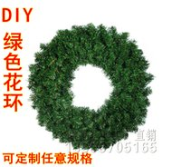 christmas wreath ring - Christmas ornaments Christmas ornaments scene layout green vine wreath door wreath decorated door hanging ring