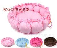 Wholesale Hot Selling Round Dog Cat Pet Bed Sleep Mat Dual Purpose Nest Unique Soft Pad Pet Sofa