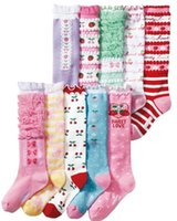 Cheap children plain socks Best kids dance stocking