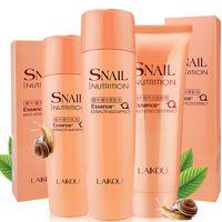 Wholesale Snail Essence Face Cleanser Toner Lotion Anti wrinkle Moisturizing Whitening Skin Care