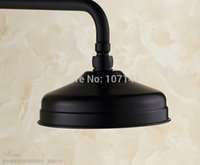 Cheap Free Shipping Wholesale and Retail Oil Rubbed Bronze Finished Bathroom Rainfall Overhead Shower Head