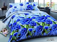 3d bedding set king size - 3D bedding sets reactive printing king size bedding sets price animals and flower print