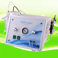 Wholesale 2016 professional Hydra microdermabrasion water aqua peeling facial skin cleaning machine facial beauty machine water dermabrasion