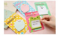 Wholesale Korean DIY modeling sticky note Multifunction Memo pad Cute memo pad message note