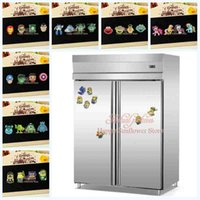 Wholesale Many styles Mickey And Minnie Minions Fridge Magnet PVC Magnet Home Décor The Avengers Super Hero Hero Refrigerator Magnets