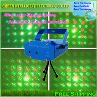 automatic pictures - NEW different pictures changed Red Green Mini Voice Automatic Control Moving Projector LED laser Party disco stage lighting