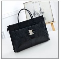Wholesale Women Fashion Print Breifcase Big Handbag Work Purse