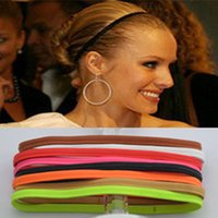 Wholesale Hair Band Football Star Mens and Womens Sports Elastic Rope Hair Lead the Wash a Face Alloy Material Ladys Style Europe