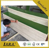 Wholesale Cheap Green Film Faced Plywood Manufacture Sample For Construction Materials Ply With Poplar Hardwood Core Custom Made Length