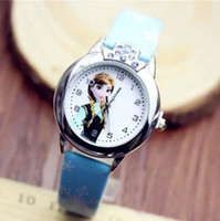 Coat bb limited edition - Hug Me Frozen Elsa Anna Girls Watch Fashion Student Childrens New Cartoon Wristwatches Exquisite Gift BB
