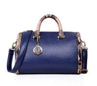 best price handbag blue - Hot New PU Leather Wome Messenger Bags Ladies Shoulder Bags Designer Handbags Fashion Alligator Elegant Bag High Quality Best Price