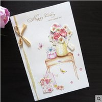 beautiful greeting card designs - Stock Handmade Happy Birthday Greeting Cards Blessing Cards Best Wish Cards Beautiful Design
