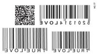 bar code design - Temporary Tattoo Stickers Temporary Body Hip Waist Arm Art Supermodel Stencil Designs Waterproof TRUE LOVE BAR CODE Tattoo