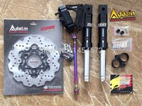 Wholesale Stretching RUCKUS GENUINE RRGS Front Fork Kits With Adelin Calipers Adapter Bracket mm Brake Rotor Disc NCY AXLE