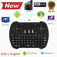 Cheap Mini 2.4G Rii R6 Backlight Backlit Wireless Game Keyboard Fly Air Mouse Remote Control with Touchpad for MXQ Andriod TV Box IPTV
