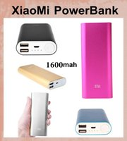 Wholesale xiaomi Power Bank phone charger mAh Emergency Battery Charger USB Portable For xiaomi iPhone ipad MP3 clone Power Bank POB011