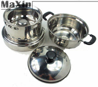 alcohol heater - Camping Cooking Windproof Stainless Steel Liquid Alcohol Oil Cook Stove Heater Burner w Pot