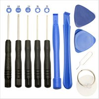 Wholesale 100Set In Mobile Repair Opening Tool Kit Set Pry Screwdriver For Cell Phone for iPhone s Samsung S6 S5S4S3