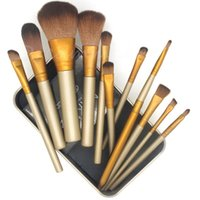 Wholesale Professional Nylon Hair Makeup Brush Kit Sets for Eyeshadow Kabuki Cosmetic Brushes Tool WSD1048