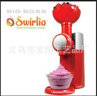 Wholesale Big Boss Swirlio Frozen Fruit Dessert Maker Ice Cream Maker