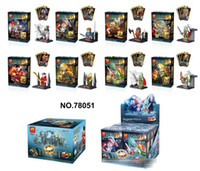 puzzle ring - The Lord of the rings hobbit children s toys assembled puzzle blocks mixed cards toys and gifts