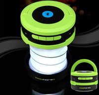 Wholesale Ultra Portable Wireless Bluetooth Speaker with LED Lantern Flashlight Hand Free Speaker for iPhone Samsung PC