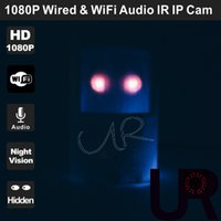 Wholesale 1080P Night Vision Wired and Wireless Onvif PIR Style Hidden IP Camera with Super Wide View Angle mm Pinhole Lens and Audio