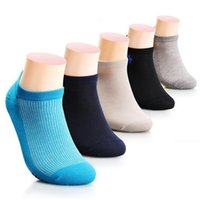 ankle hiking socks - Cotton Elite Socks Mens Solid Ankle Socks Fashion Casual Male Basketball Sport Cycling Socks Mens Brand Business compression socks for men