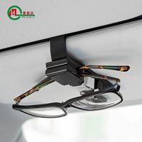 Wholesale The car car glasses high end automotive vehicle eye glasses box double clip auto supplies