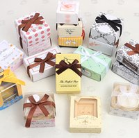 Wholesale Free EMS DHL Boxes Mini cool Soap novelty home party personality wedding party favors owl soap Gift box