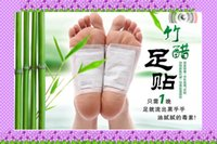 Wholesale Adhesives Detox Foot Patch Bamboo Pads Patches With Adhesive Improve Sleep Beauty Slimming Patch