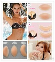 Wholesale Invisible Silicone Breast Enhancers Bra Insert Pad Bust Improvement Beauty Products for Women pairs OM XC8