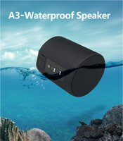 Wholesale Hot Waterproof Bluetooth Speaker A3 Mini Portable Wireless Travel Subwoofer For Smart Phones Music player
