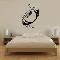 ball packaging rugby - Unique Bedroom Decoration Spinning Rugby Ball Wall Sticker Vinyl Removable Home Decor Self Adhesive