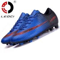 Wholesale FG Football Boots Cleats soccer Shoes mens football cleats boot Chuteiras botas de futbol voetbalschoenen women Adult Kids