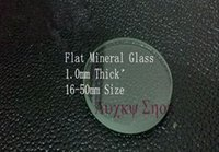 Wholesale mm Thick mm Size Flat Mineral Watch Crystal Watch Glass for Watchmakers