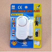 Wholesale 1000pcs CCA3213 High Quality Wireless Magnetic Sensor Door Window Entry Safety Security Burglar Alarm Bell Security Device Lock Burglar