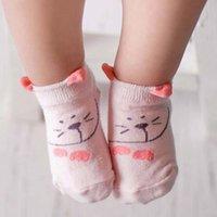 best baby booties - Hot New Cartoon Childrens Socks Kids Sock Ankle Socks Children Clothes Kids Clothing Best Socks Boys Girls Socks For Kids Baby Booties