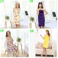 towel robe - 2015 hot color autumn women nighty sexy wrapped strapless Robes bowknot nightgown coral flannel nightwear bath towel pajamas TOPB3561