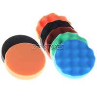 Wholesale 7PC inch Polishing pad Buffing Pad Set For Car Polisher Detail polishing