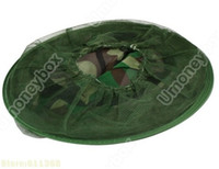 active mosquitos - Collapsible Outdoor Hooded Hat with Bug with Mosquito Repelling Mesh Anti Mosquito Hat Green