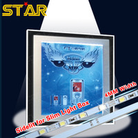 led box sign - mm Width W Slim V LED Rigid Strip Bar Light Sidelit for Slim Light Box Crystal Lightbox LED Sign Menu Board