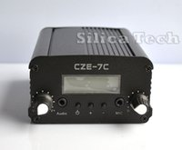 Universal fm radio broadcast transmitter - CZE C W stereo PLL FM transmitter broadcast radio station TNC port