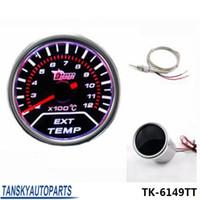 Wholesale Universal quot mm Car Exhaust Gas Temperature EGT Gauge auto meter auto gauge car meter TK TT