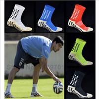 Wholesale Top Quality Anti Slip Soccer Socks the same style as Trusox Mid calf Football Sock Calcetin de futbol Meias Calcetines Bale sox
