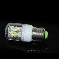 Corn SMD 7W 2015 High Bright LED lamps E27 5730 24LEDs AC 220V Corn LED Bulb NEW Chip 5730SMD 7W Energy Efficient Light 50pcs lots