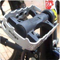 Wholesale Cycling Road MTB Bike Bicycle Aluminum alloy Pedals quot Axle Foot Tread Brand New