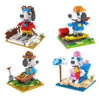 age birthday present - LOZ Snupy Action Figure Toy Funny Mini Building Blocks Christmas Birthday Present Gift for Kids