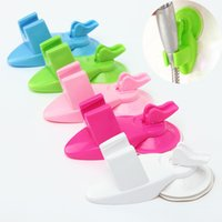 attachable cup holder - New Arrival Bathroom Strong Attachable Shower Head Holder Suction Cup Movable Bracket Fit For Kitchen Bathroom Color Random